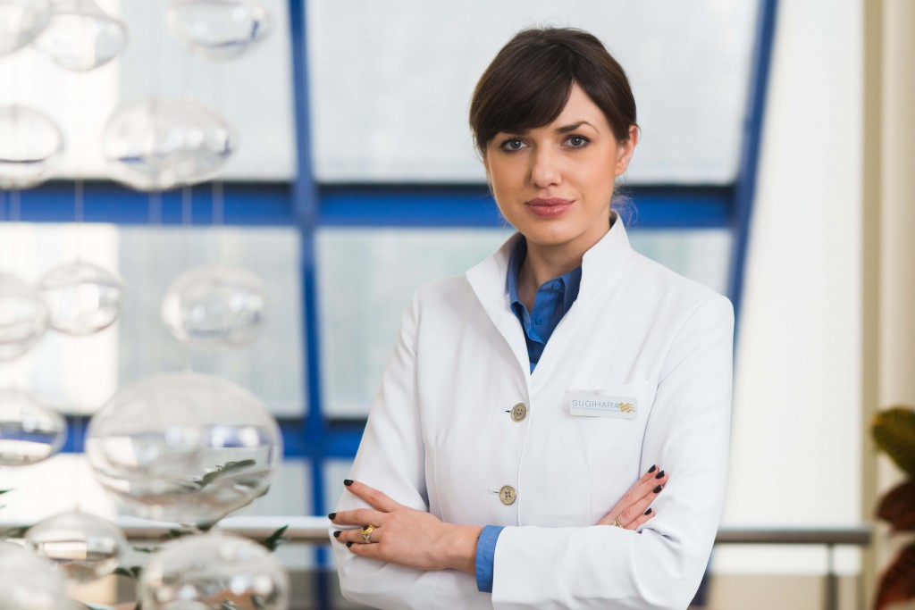 Gydytoja dermatologe Ausrine Ramanauskaite