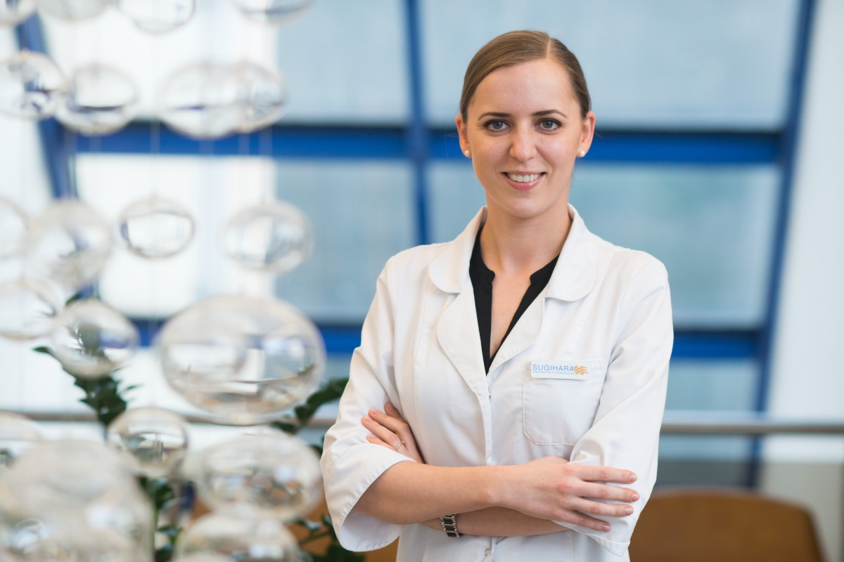 Sugihara klinikos Gydytoja dermatologe Tatjana Karmaziene