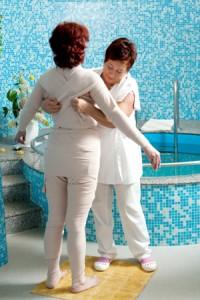 Bandažas - detoksikuojantis viso kūno įvyniojimas klinikoje SUGIHARA
