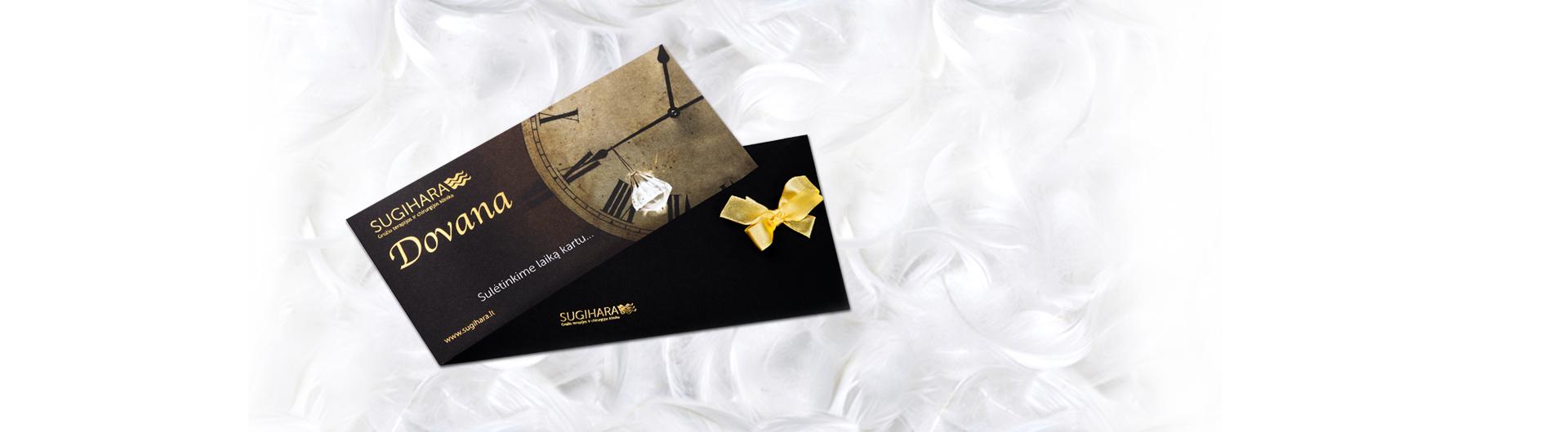 SUGIHARA dovanų kuponai