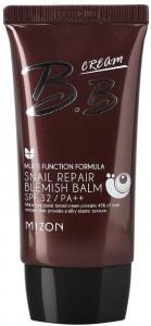 Maskuojamasis veido kremas Mizon Snail Repair Blemish Balm MIZ000002063 su sraigių ekstraktu, 50 ml