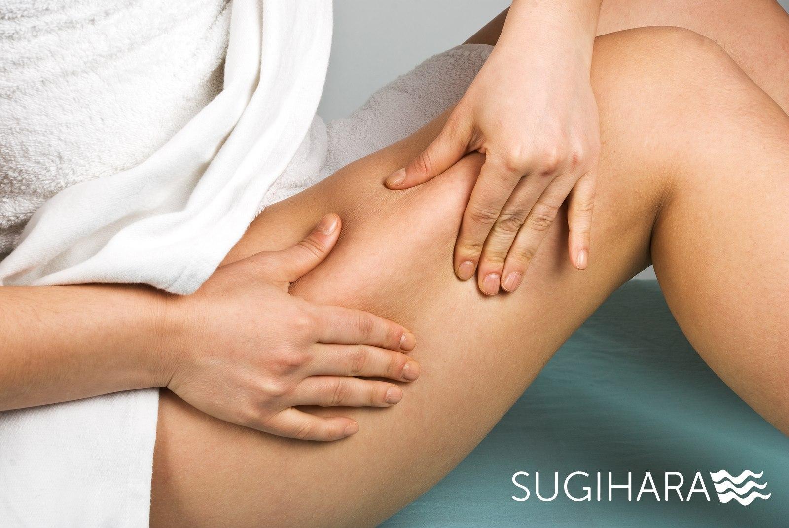 Celiulito mažinimas klinikoje SUGIHARA