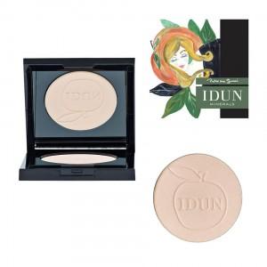 IDUN Minerals kompaktinė pudra matinė