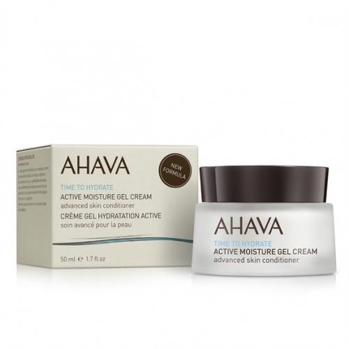 AHAVA aktyviai drėkinantis gelinis kremas