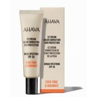 AHAVA odos spalvą koreguojantis CC veido kremas SPF30