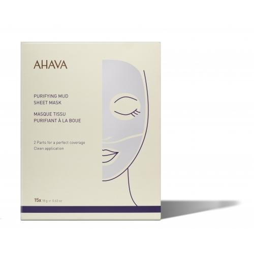 AHAVA valomoji purvo lakštinė kaukė