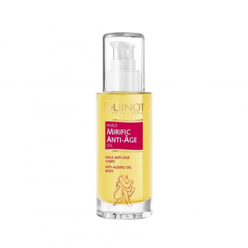 GUINOT Huile Mirific Anti-Ageing Body Oil - Prabangus priešraukšlinis kūno aliejus