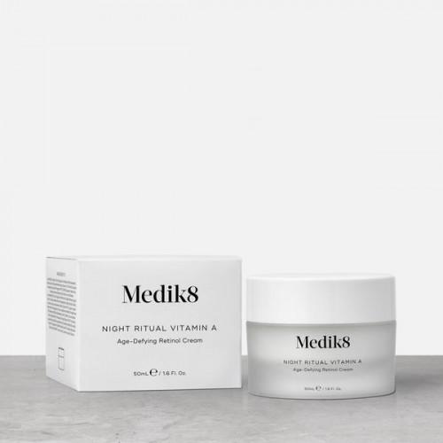 MEDIK8 Night Ritual Vitamin A™ - Priešraukšlinis veido kremas nakčiai su vitaminu A