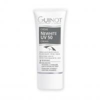 GUINOT Newhite Cream - Šviesinamoji apsauginė priemonė veidui su spalva SPF50