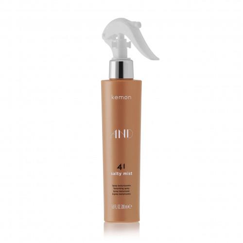 KEMON AND 41 Salty Mist - Apimties ir matiškumo suteikianti purškiama plaukų formavimo priemonė