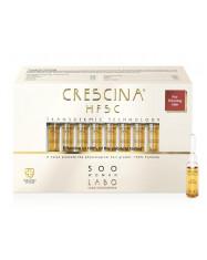 CRESCINA TRANSDERMIC RE-GROWTH HFSC 100% plaukų ataugimą skatinančios ampulės MOTERIMS