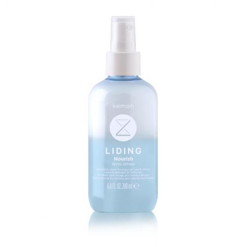 KEMON Liding Nourish Spray 2Phase Velian - Maitinamoji dvifazė purškiama priemonė plaukams