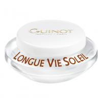 GUINOT Longue Vie Soleil - Priešraukšlinis veido kremas prieš/po saulės