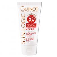 GUINOT Age Sun Anti-Age Face Cream - Priešraukšlinis veido kremas SPF50