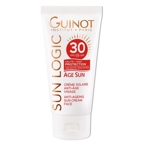 GUINOT Age Sun Anti-Age Face Cream - Priešraukšlinis veido kremas nuo saulės SPF30