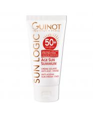 GUINOT Age Sun Summum  Face Cream - Priešraukšlinis veido kremas nuo saulės SPF50+