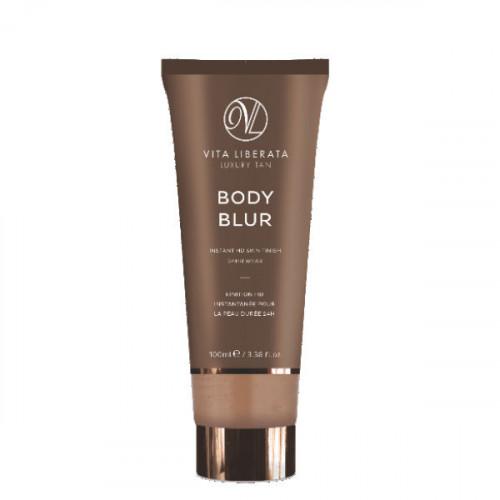 VITA LIBERATA Body Blur Instant Skin Finish - Momentinio poveikio savaiminio įdegio kremas - Latte