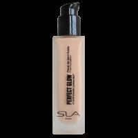 "SLA fluidas – skystas makiažo pagrindas ""PERFECT GLOW"" Beige rose"