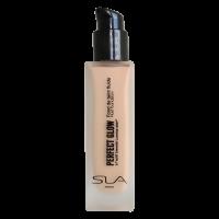 "SLA fluidas – skystas makiažo pagrindas ""PERFECT GLOW"" Natural beige"