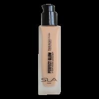 "SLA fluidas – skystas makiažo pagrindas ""PERFECT GLOW"" Natural tan"