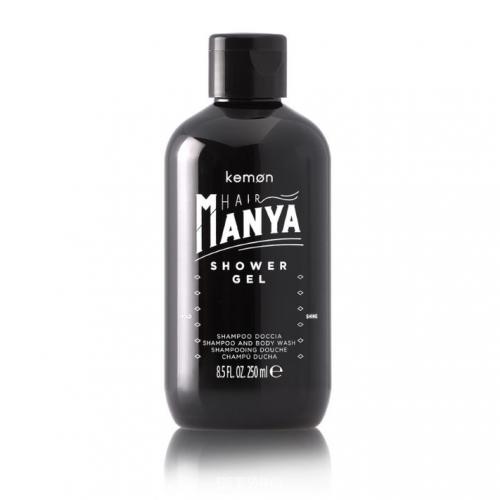 KEMON Hair Manya Shower Gel - Šampūnas ir prausiamoji kūno želė vyrams