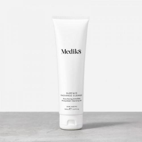 MEDIK8 Surface Radiance Cleanse - Prausiklis giliam porų valymui riebiai ir mišriai veido odai