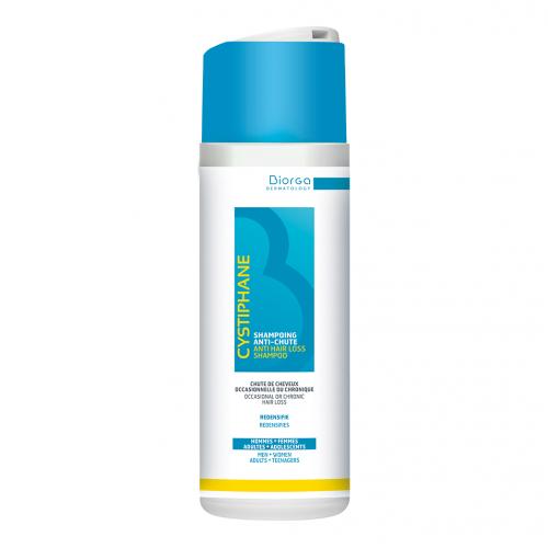 BIORGA CYSTIPHANE B6 shampoo Anti-Hair Loss -  Šampūnas nuo plaukų slinkimo