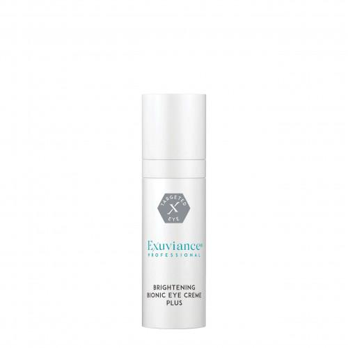 EXUVIANCE PROFESSIONAL Brightening Bionic Eye Cream Plus  - Šviesinamasis bioninis paakių kremas