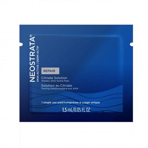 Neostrata SKIN ACTIVE Citriate Solution pad - Citriate pilingo diskelis 20 AHA