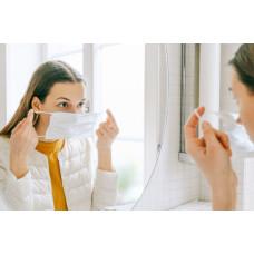 Ar gali apsauginės veido kaukės pakenkti mūsų odai?