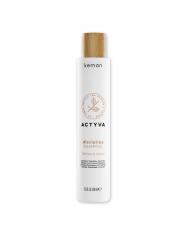KEMON ACTYVA  Šilko švelnumo suteikiantis šampūnas
