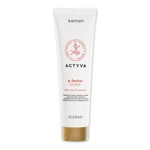 KEMON ACTYVA P Factor Scalp galvos odos ir plaukų priemonė nuo plaukų slinkimo
