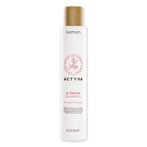 KEMON ACTYVA P Factor šampūnas nuo plaukų slinkimo