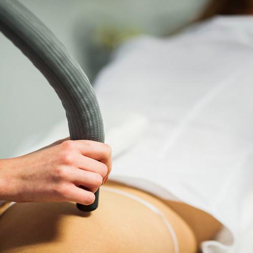 Kriostimuliacija ir kompresinė limfodrenažinė terapija