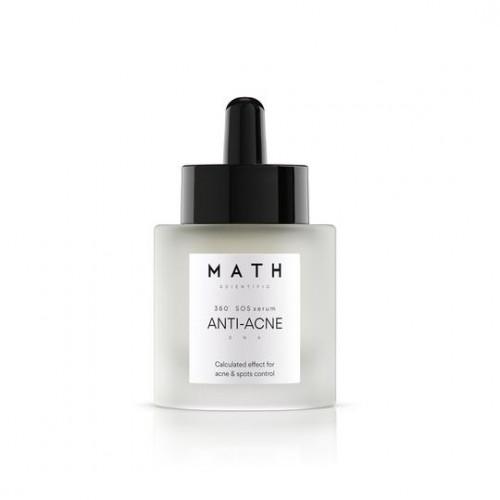 """MATH aktyvus veido serumas ant spuogų """"ANTI-ACNE SOS"""""""