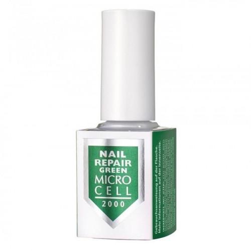 MICRO CELL Nail Repair Green - Nagų stipriklis be formandehido