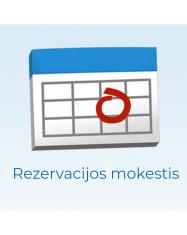 Operacijos rezervacijos mokestis / Reservation fee for operation