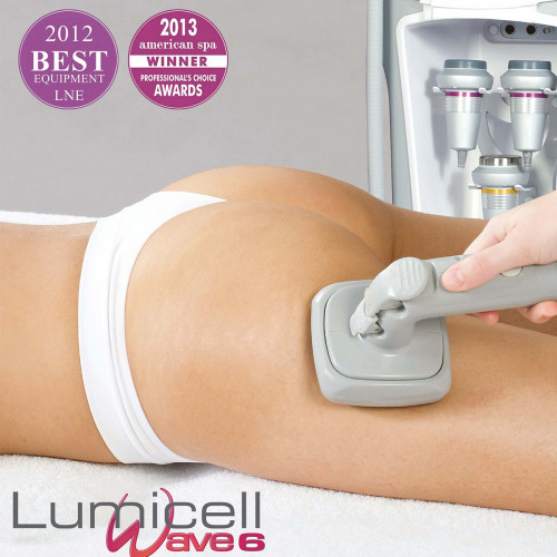 anticeliulitine kūno procedūra Lumicell wave