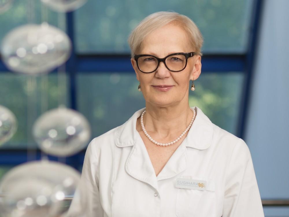 Sugihara klinikos gydytoja, Rytų medicinos specialistė Gražina Paliokienė