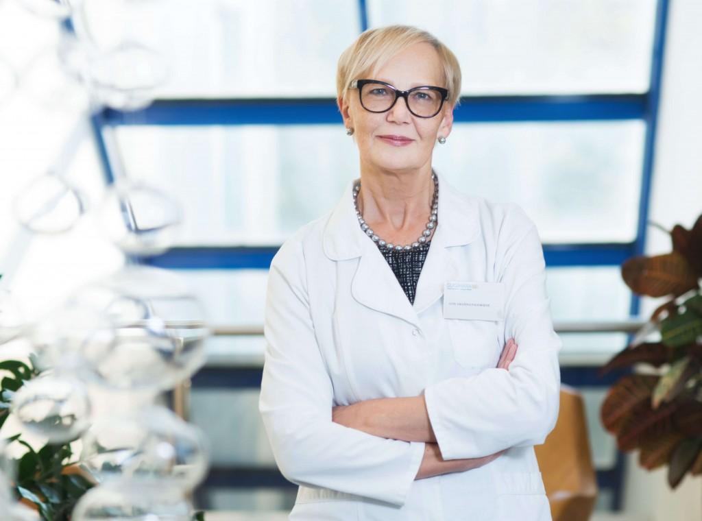 Gydytoja Gražina Paliokienė
