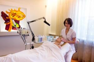 Kosmetologinės procedūros klinikoje SUGIHARA
