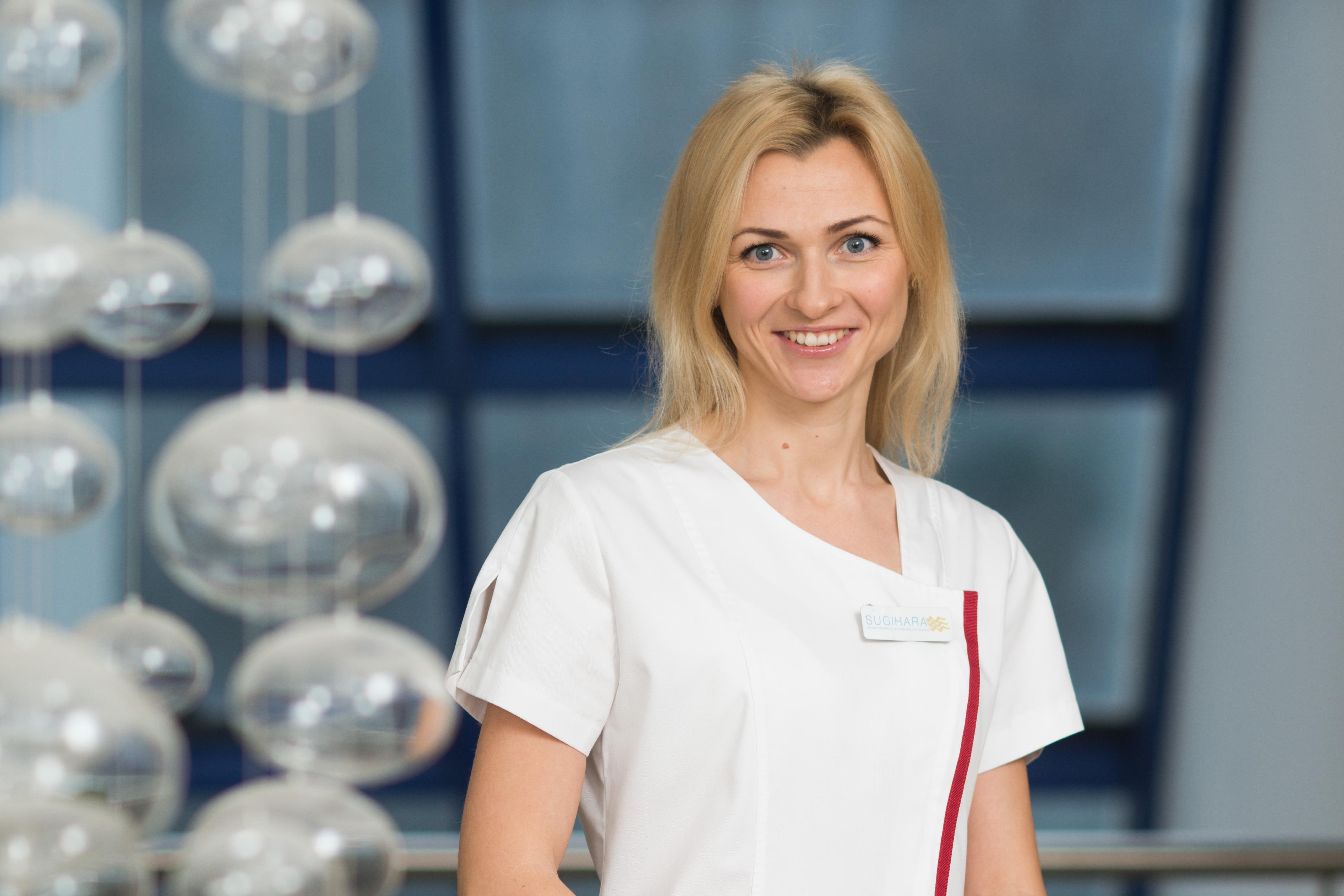 Kineziterapeutė Jolanta Butkutė-Ebef