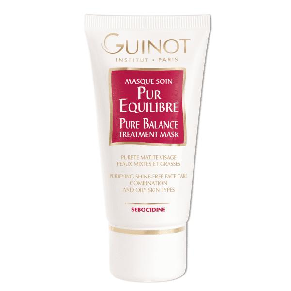 Guinot Pure Balance valomoji kaukė riebiai odai Pure Balance Treatment Mask