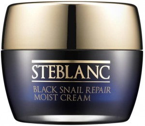 STEBLANC Atstatomasis drėkinamasis veido kremas su juodųjų sraigių ekstraktu, 50 ml