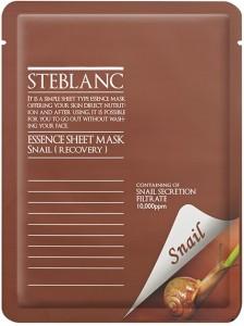 STEBLANC Veido kaukė Essence Sheet Mask Snail su sraigių sekretu, 20 g