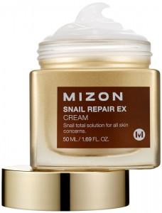 MIZON Veido kremas Snail Repair Ex Cream su sraigių ekstraktu, 50 ml