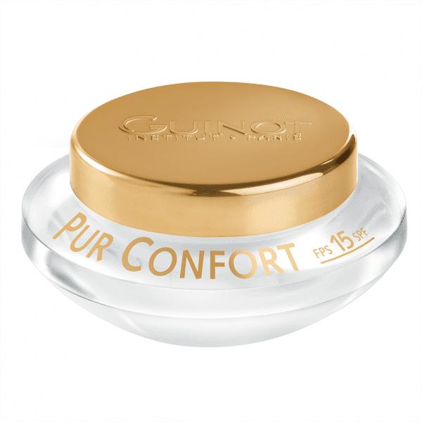 GUINOT Pur Confort jautrios odos kremas nuo žalingo aplinkos poveikio
