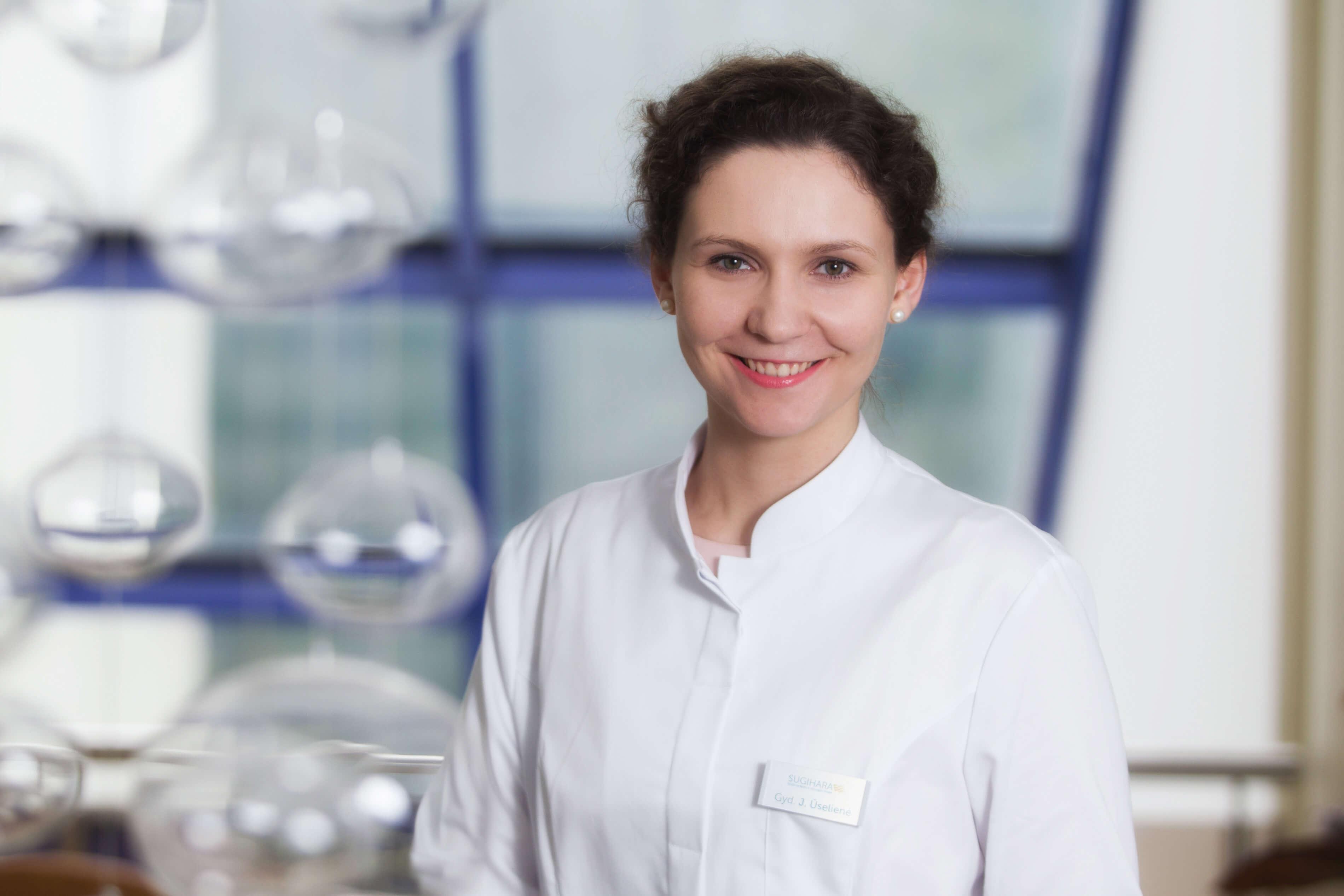Gydytoja dermatologė Jurgina Ūselienė