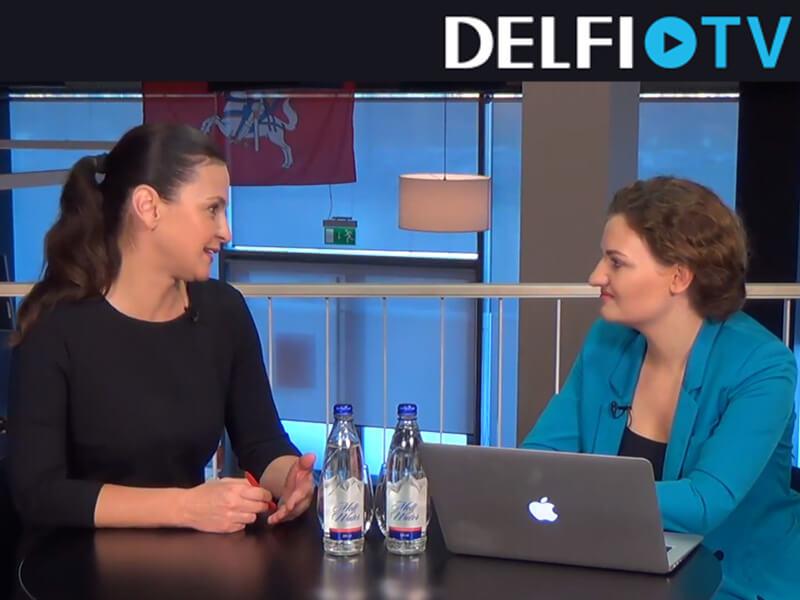 DELFI TV Daina Eidukiene