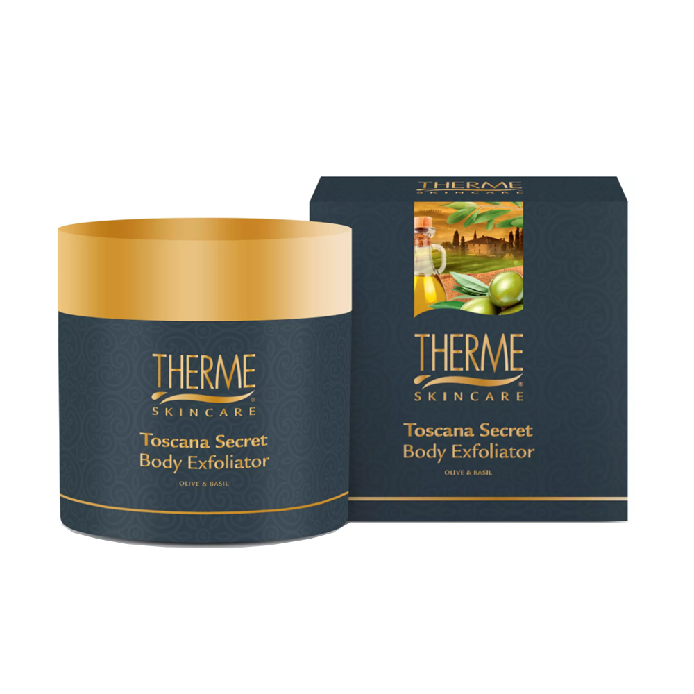THERME kūno šveitiklis TOSCANA SECRET, 250 ml
